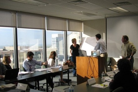 People in an Office Training